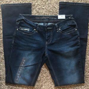 Vanity Jeans - Premium Vanity Sasha Curvy Bootcut Jeans - size 28